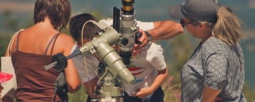 Observation des protubérances
