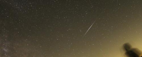 Passage d'un satellite Iridium