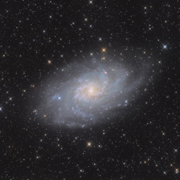 M 33, la galaxie du Triangle
