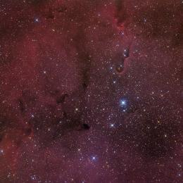 IC 1396, la nébuleuse de la trompe d'éléphant