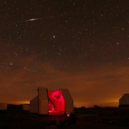 Flare Iridium au-dessus du T635