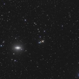 M 104, la galaxie du sombrero
