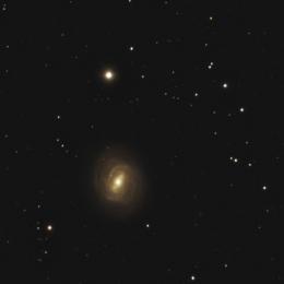 M 58, galaxie spirale