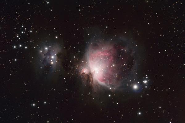 M 42 + M 43, la nébuleuse d'Orion