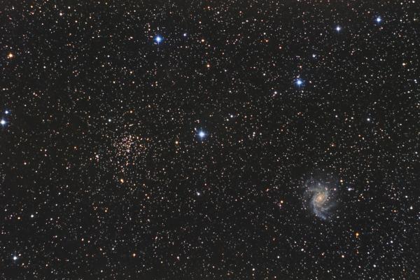 NGC 6946 + NGC 6939