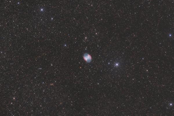 M 27, la nébuleuse de l'haltère