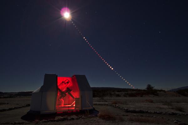 Chapelet de l'éclipse totale de Lune