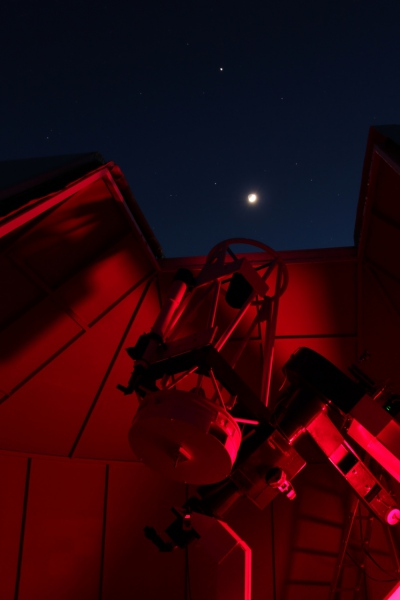 Rapprochement Lune + Jupiter au-dessus du T635