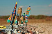 Fusées prêtes au lancement