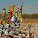 Fusées prêtes au décollage
