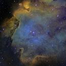 IC 1848, la nébuleuse du fœtus