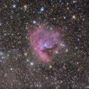 NGC 281, la nébuleuse Pacman